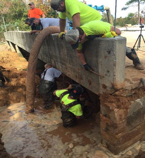 Jackson Lakes Florida Trenchless Culvert Repair | Ground Works